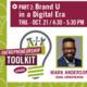 Entrepreneurship Toolkit Series: Mark Anderson - Brand You Part 2