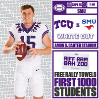 White Out Football Game vs SMU