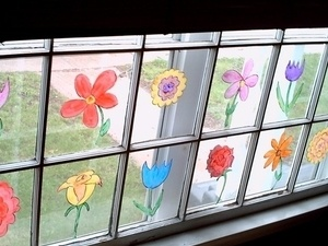 Pitt-Johnstown Homecoming Window Painting Competition