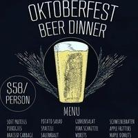Oktoberfest Beer Dinner: True Respite & The Comus Inn