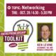 Entrepreneurship Toolkit Series: Ken Levine - Networking