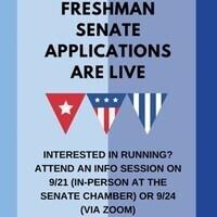 Freshmen Senate Information Session