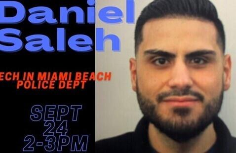 Tech in Miami Beach Police Dept