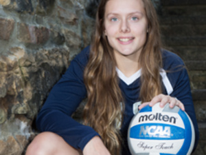Pitt-Greensburg Volleyball Player