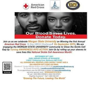 Sickle Cell Awareness Month Blood Drive