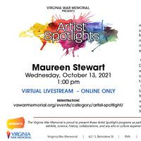 Virginia War Memorial Artist Spotlight: Maureen Stewart