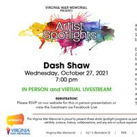 Virginia War Memorial Artist Spotlight: Dash Shaw