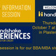 Handshake Info Session Invite