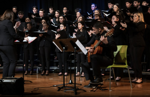 """""""Sure on This Shining Night"""" MDC Kendall Chamber Singers (Misty Bermudez)"""