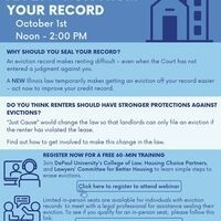 Learn How to Erase an Eviction From Your Record