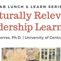 Culturally Relevant Leadership Learning