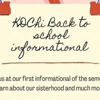 Kappa Delta Chi Informational