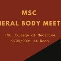 RSO General body Meeting
