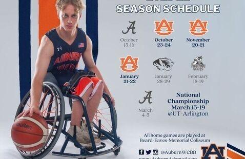 Auburn Wheelchair Basketball November Tournament