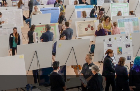 In-person research symposium