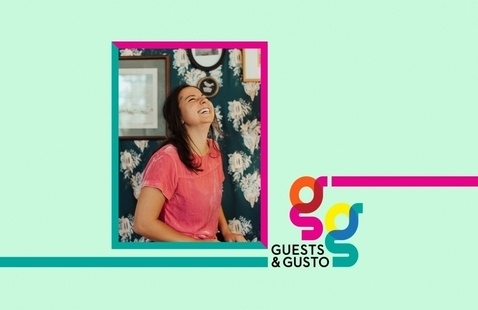 Dream up joyful works and spaces with artist, SCAD alum Juliana Lupacchino on 'Guests and Gusto'