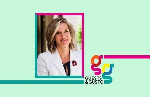 Conceptualize new brands with strategist, Landor & Fitch president Mary Zalla on 'Guests and Gusto'