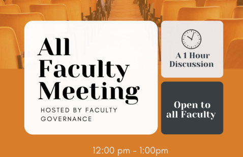 All Faculty Meeting