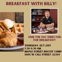 FSU Student Veterans Center - Third Thursday - Breakfast with Billy