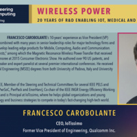 Seminar-WIRELESS POWER 20 YEARS OF R&D ENABLING IOT, MEDICAL AND PORTABLE ELECTRONICS