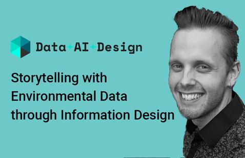 Storytelling with environmental data through information design