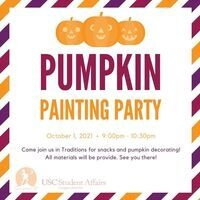 Late Night 'SC Pumpkin Painting Party