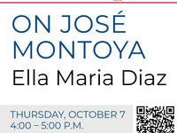 On José Montoya with Ella Maria Diaz
