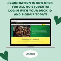 Craft Center Workshop Registration
