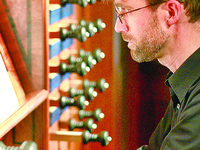 Jonathan Schakel, organ/harpsichord and Megan Sharp, soprano: CU Music