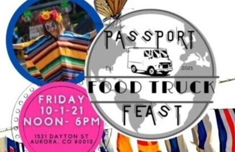 Passport Food Truck Feast Flyer