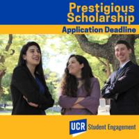 (PSA) Schwarzman Scholars Application Deadline