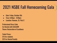 2021 NSBE Fall Homecoming Gala