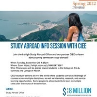 Spring 2022 Study Abroad w/ CIEE Information Session