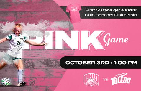 Ohio Soccer vs. Toledo (PINK GAME)