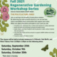 Regenerative Gardening Workshop Series