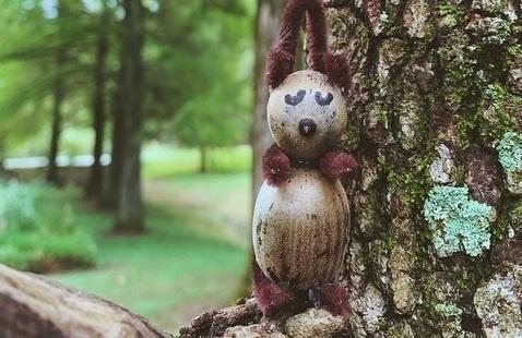acorn squirrel craft