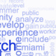 Keyword Cloud about research