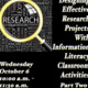 Designing Effective Research Projects With Information Literacy Classroom Activities  (Part Two)