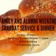 Shabbat Service and Dinner