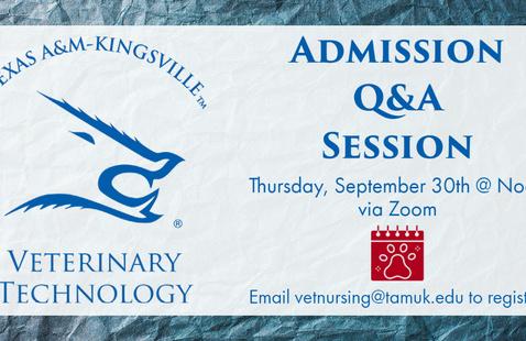 Vet Tech Program Q&A Session graphic