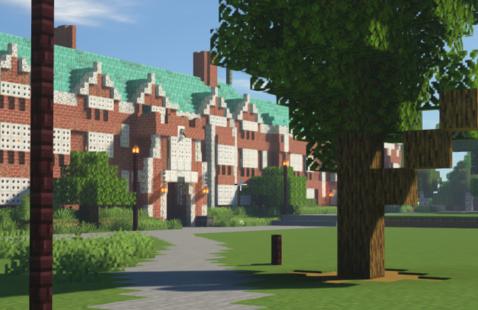 Build Reed Campus in Minecraft
