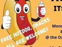 Hotdog its a study break!  All welcome