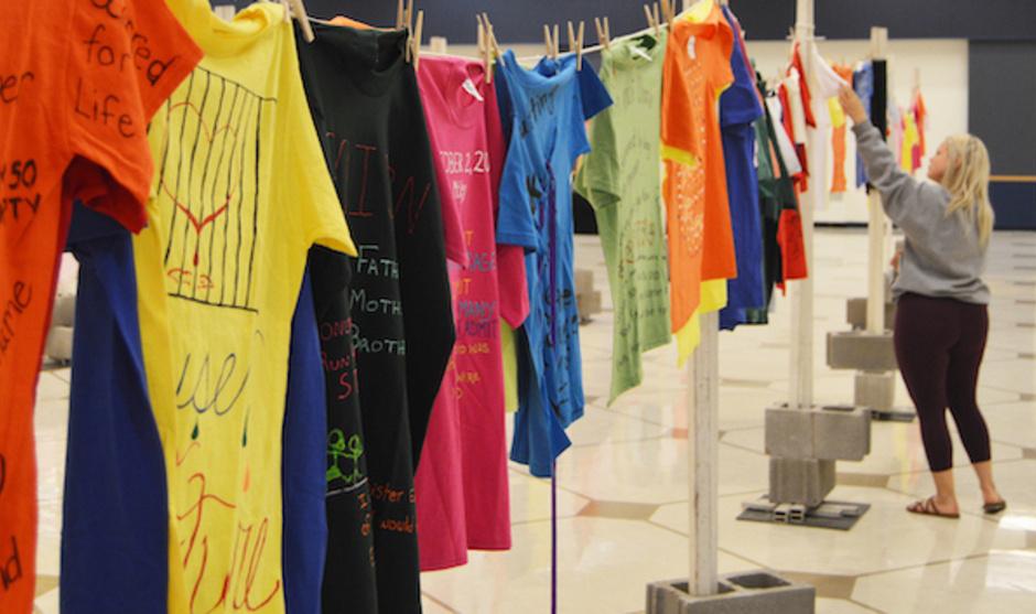 North Dakota Clothesline Project