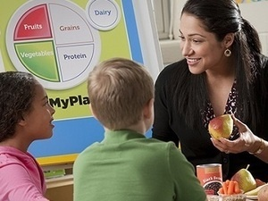 Discussing nutrition with children