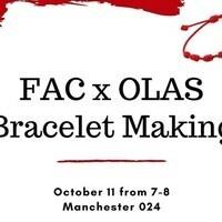 Fiber Arts Club x OLAS Bracelet Making