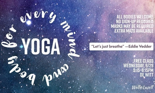Yoga for All Bodies and All Minds at de Witt Hall
