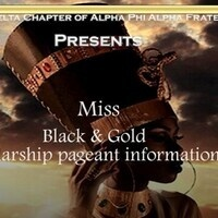 Miss Black & Gold Scholarship Pageant Informational