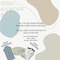 IDSO Fall Kick-Off