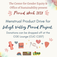 Period Week 2021: Lehigh Valley Period Project Donation Drive