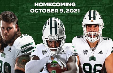 Ohio Football Homecoming Game Vs. Central Michigan